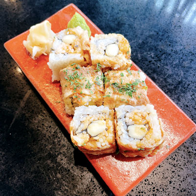 Gon's Spicy Roll(Pork, Cheese, Spicy Sauce)